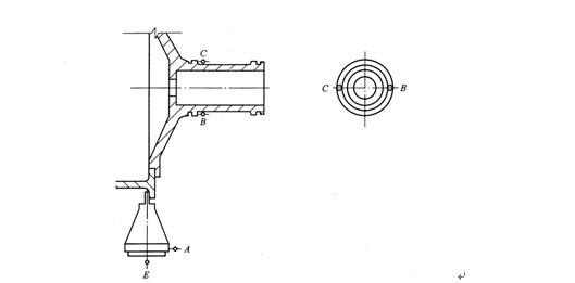 测量齿轮端面和径向圆跳动